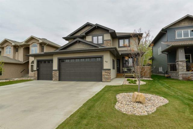 40 Danfield Place, Spruce Grove, AB T7X 0A3 (#E4157785) :: The Foundry Real Estate Company