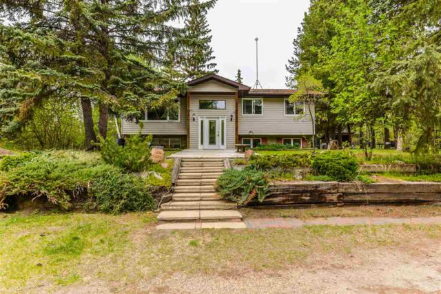 22-51330 Rge Rd 271, Rural Parkland County, AB T7Y 1H1 (#E4158343) :: Mozaic Realty Group