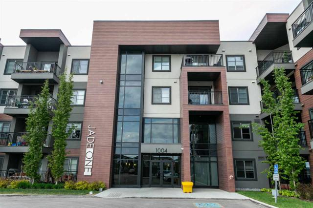 416 1004 Rosenthal Boulevard, Edmonton, AB T5T 5X9 (#E4158732) :: David St. Jean Real Estate Group