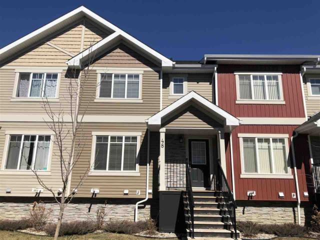 48 9535 217 Street, Edmonton, AB T5T 5X9 (#E4158962) :: Mozaic Realty Group
