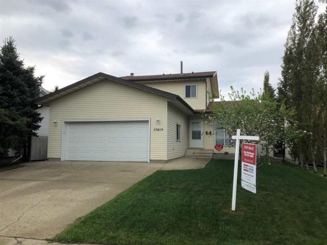 17419 92 Street, Edmonton, AB T5Z 2M5 (#E4159107) :: David St. Jean Real Estate Group