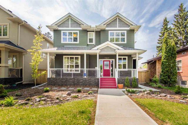 7907 79 Avenue, Edmonton, AB T6C 0P7 (#E4159217) :: David St. Jean Real Estate Group
