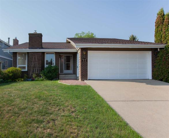 12 Wahstao Crescent NW, Edmonton, AB T5T 2W8 (#E4159337) :: David St. Jean Real Estate Group