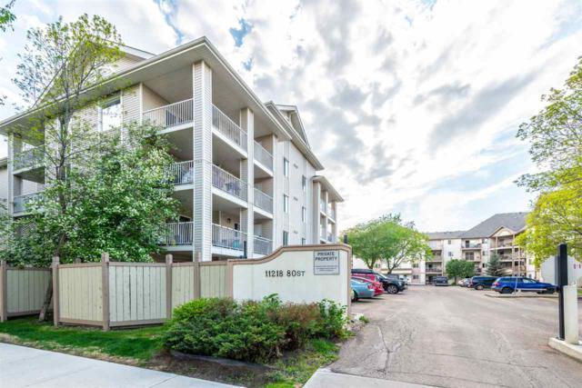 112 11218 80 Street, Edmonton, AB T5B 4V9 (#E4159659) :: David St. Jean Real Estate Group