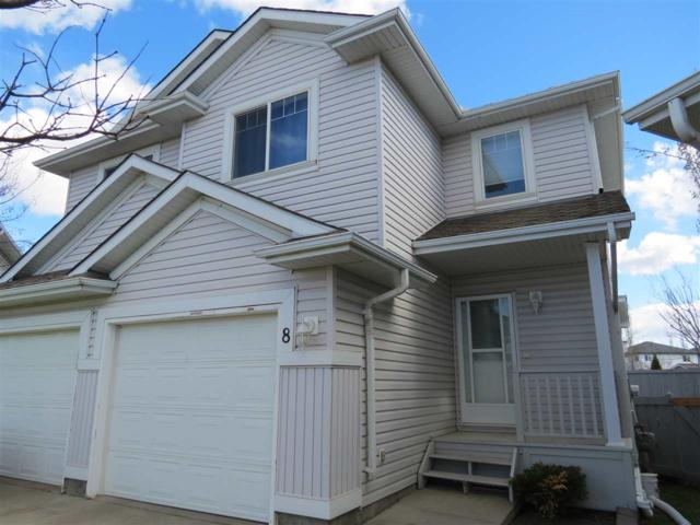 8 13403 Cumberland Road, Edmonton, AB T6V 1P9 (#E4159703) :: The Foundry Real Estate Company