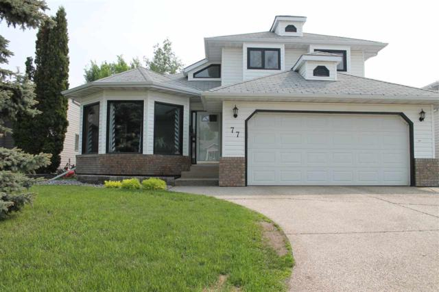 77 Stoneshire Crescent, Spruce Grove, AB T7X 3C9 (#E4159766) :: David St. Jean Real Estate Group