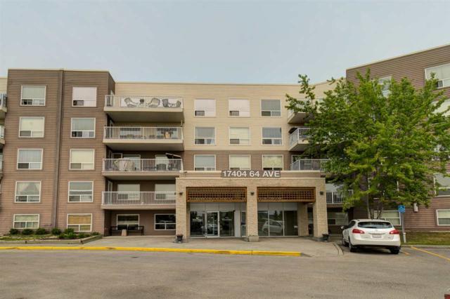 509 17404 64 Avenue, Edmonton, AB T5T 6X4 (#E4159846) :: The Foundry Real Estate Company