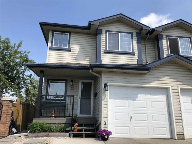 30 345 Kirkness Road, Edmonton, AB T5Y 2M7 (#E4159935) :: David St. Jean Real Estate Group