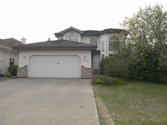125 Blackburn Drive W, Edmonton, AB T6W 1B7 (#E4159956) :: Mozaic Realty Group