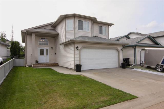 21 Westwood Wynd, Fort Saskatchewan, AB T8L 4L3 (#E4159982) :: David St. Jean Real Estate Group