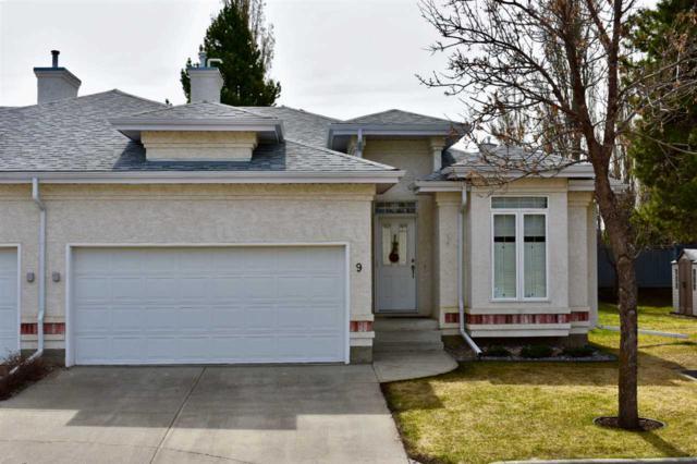 9 1 Oakmont Drive, St. Albert, AB T8N 6L6 (#E4161127) :: David St. Jean Real Estate Group
