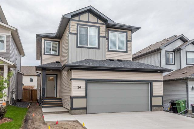 26 Chestnut Way, Fort Saskatchewan, AB T8L 0R4 (#E4161476) :: David St. Jean Real Estate Group