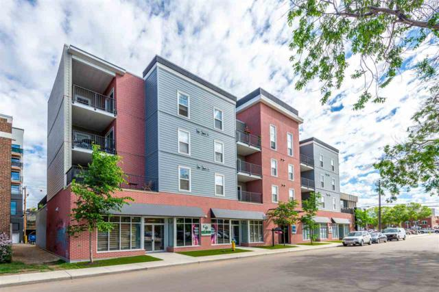 307 10418 81 Avenue, Edmonton, AB T6E 1X5 (#E4161489) :: Jenn McPhillamey | YEGPro Realty