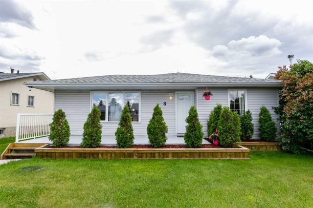 8 Collingwood Avenue, Spruce Grove, AB T7X 2A8 (#E4161898) :: David St. Jean Real Estate Group