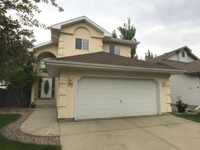27 Oakmont Drive, St. Albert, AB T8N 6K6 (#E4162300) :: David St. Jean Real Estate Group