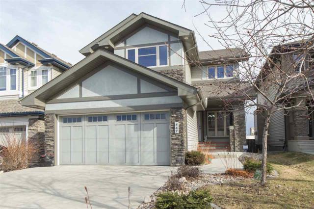 447 Ainslie Crescent, Edmonton, AB T6W 0H8 (#E4162516) :: David St. Jean Real Estate Group