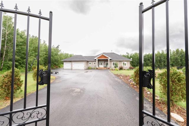 20 26510 TWP RD 511, Rural Parkland County, AB T7Y 1G2 (#E4163153) :: Jenn McPhillamey | YEGPro Realty