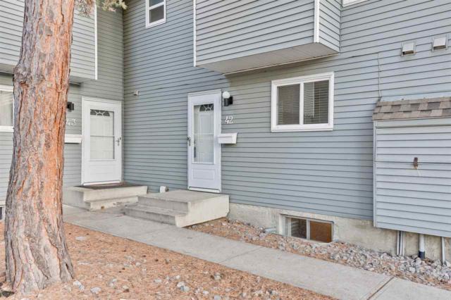 42 4403 Riverbend Road, Edmonton, AB T6H 5S9 (#E4163279) :: David St. Jean Real Estate Group