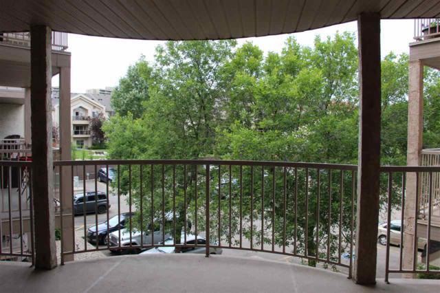 309 17109 67 Avenue, Edmonton, AB T5T 6E6 (#E4164441) :: David St. Jean Real Estate Group