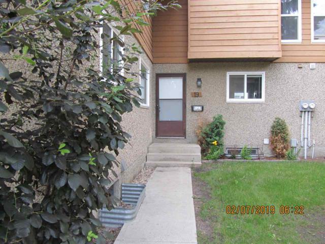 # 19  3812 20 Avenue, Edmonton, AB T5P 1K3 (#E4164930) :: David St. Jean Real Estate Group