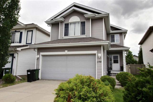 194 Edwards Drive, Edmonton, AB T6X 1K5 (#E4164986) :: The Foundry Real Estate Company