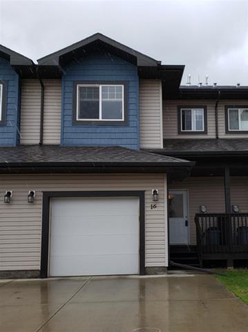 16 16004 54 Street, Edmonton, AB T5Y 0R1 (#E4164987) :: The Foundry Real Estate Company