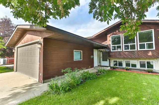 2103 49A Street, Edmonton, AB T6L 2W9 (#E4165088) :: David St. Jean Real Estate Group