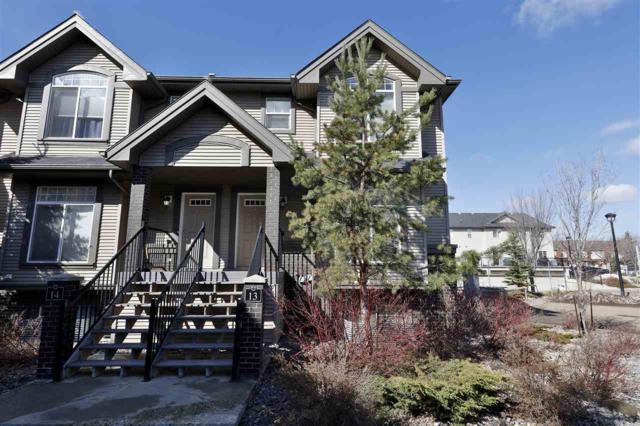 13 4755 Terwillegar Common, Edmonton, AB T6R 3V6 (#E4166050) :: David St. Jean Real Estate Group