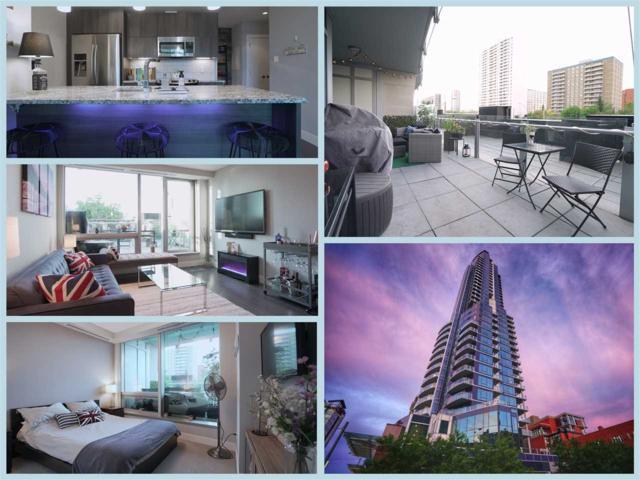 202 11969 Jasper Avenue, Edmonton, AB T5K 0P1 (#E4166338) :: The Foundry Real Estate Company