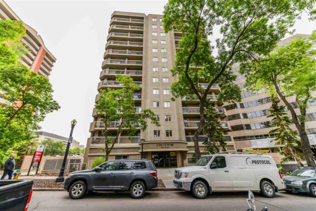 1203 9715 110 Street NW, Edmonton, AB T5K 2M1 (#E4166413) :: The Foundry Real Estate Company