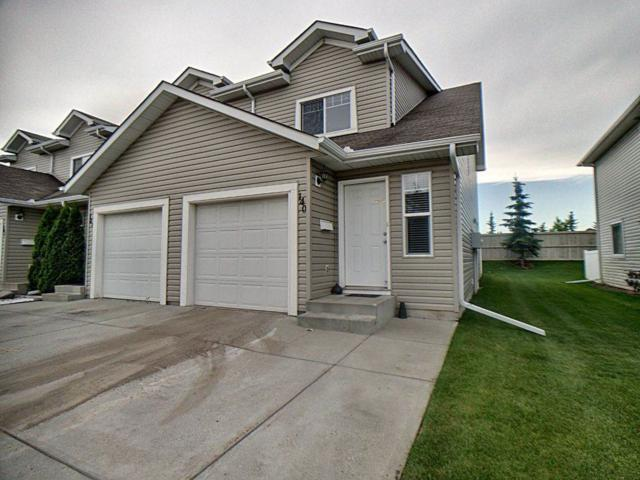 140 150 Edwards Drive, Edmonton, AB T6X 1M4 (#E4167207) :: David St. Jean Real Estate Group
