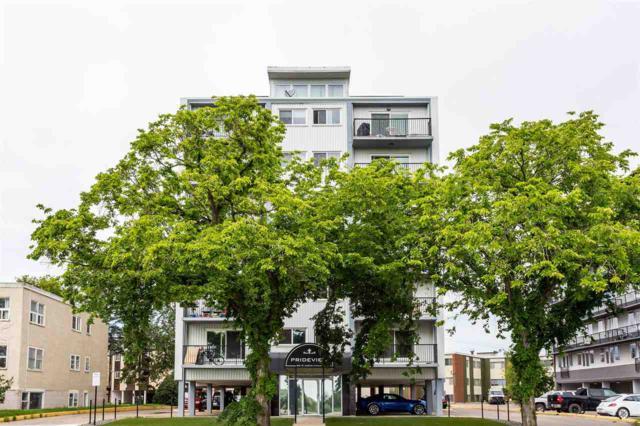 206 8310 Jasper Avenue, Edmonton, AB T5H 3S3 (#E4167387) :: David St. Jean Real Estate Group