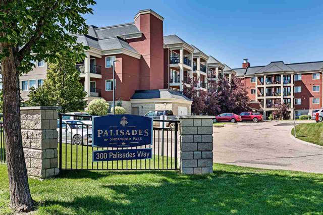 220 300 Palisades Way, Sherwood Park, AB T8H 2T9 (#E4167518) :: David St. Jean Real Estate Group