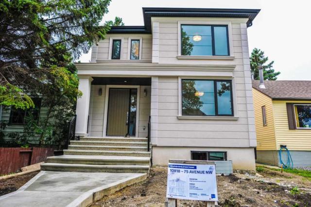 10818 75 Avenue, Edmonton, AB T6E 1K2 (#E4167732) :: David St. Jean Real Estate Group