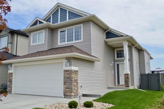 149 Kirpatrick Crescent, Leduc, AB T9E 0W3 (#E4168248) :: David St. Jean Real Estate Group