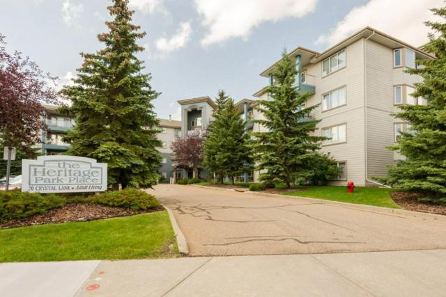 409 70 Crystal Lane, Sherwood Park, AB T8H 1W6 (#E4168279) :: The Foundry Real Estate Company