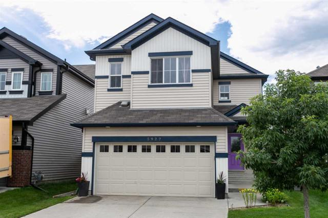 5927 18 Avenue, Edmonton, AB T6X 0W4 (#E4168720) :: David St. Jean Real Estate Group