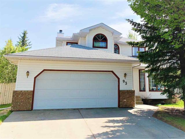 93 Ormsby Road W, Edmonton, AB T5T 5V2 (#E4168747) :: David St. Jean Real Estate Group