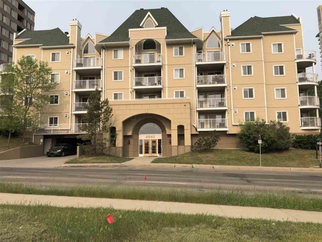 106 9640 105 Street, Edmonton, AB T5K 0Z7 (#E4168938) :: David St. Jean Real Estate Group