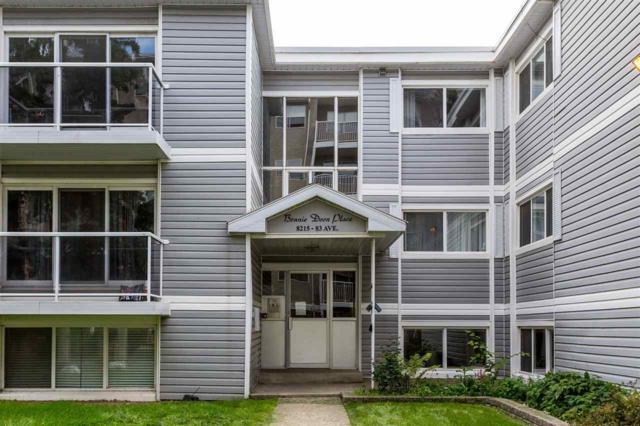 210 8215 83 Avenue, Edmonton, AB T6C 1A7 (#E4168976) :: The Foundry Real Estate Company