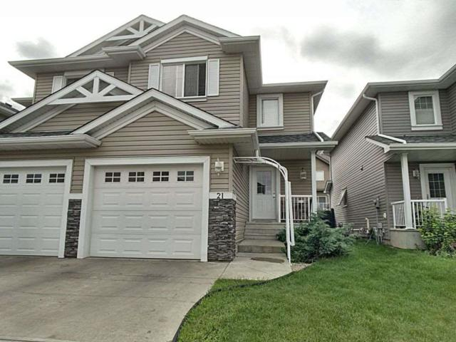 21 5101 Soleil Boulevard, Beaumont, AB T4X 0E3 (#E4169503) :: The Foundry Real Estate Company