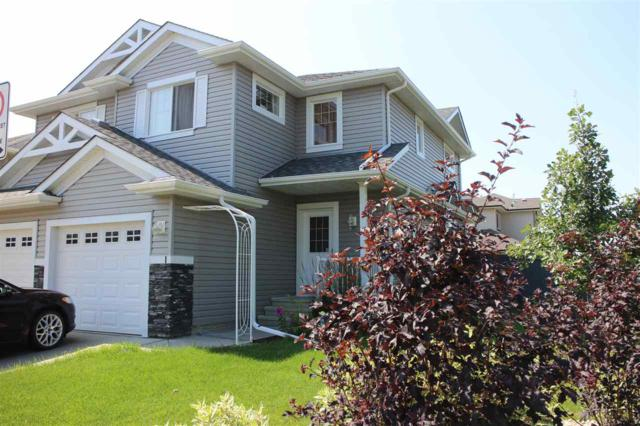 #1 5101 Soleil Boulevard, Beaumont, AB T4X 0E3 (#E4169628) :: The Foundry Real Estate Company