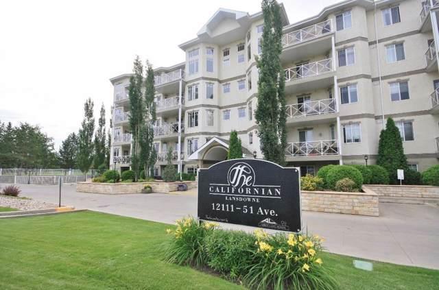 419 12111 51 Avenue, Edmonton, AB T6H 6A3 (#E4173251) :: The Foundry Real Estate Company