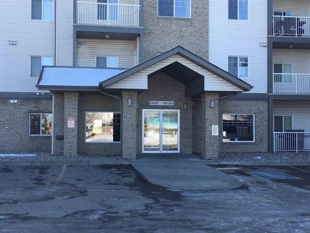 #228 16807 100 Avenue, Edmonton, AB T5P 4Z8 (#E4173257) :: The Foundry Real Estate Company