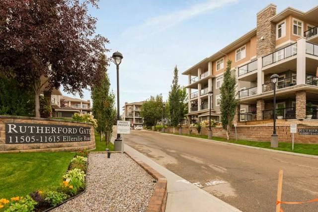 248 11517 Ellerslie Road, Edmonton, AB T6W 2A9 (#E4173384) :: The Foundry Real Estate Company