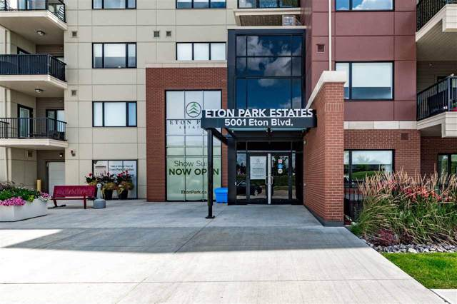 310 5001 Eton Boulevard, Sherwood Park, AB T8H 0N7 (#E4173450) :: The Foundry Real Estate Company