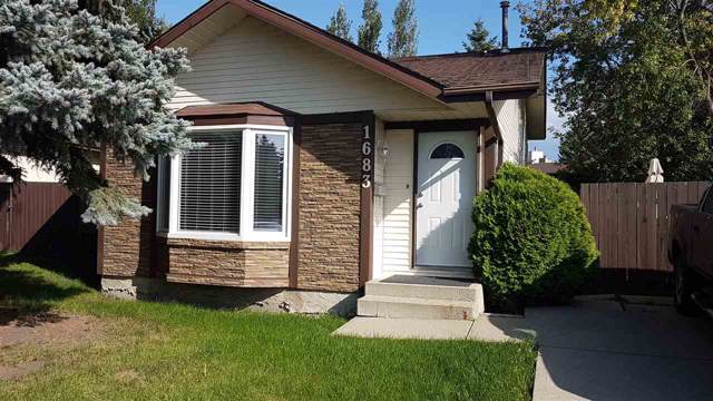 1683 42 Street, Edmonton, AB T6L 2R8 (#E4173509) :: David St. Jean Real Estate Group