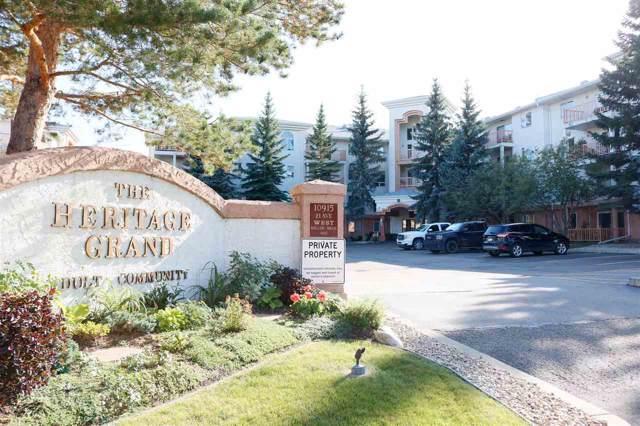 212 10915 21 Avenue, Edmonton, AB T1J 6X2 (#E4173824) :: The Foundry Real Estate Company