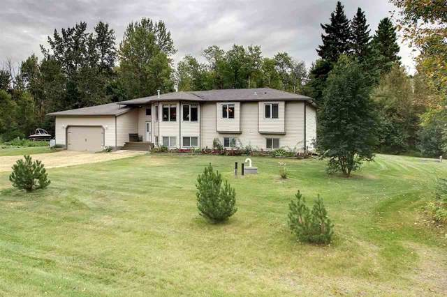52423 Rge Rd 20, Rural Parkland County, AB T7Y 2G7 (#E4173970) :: The Foundry Real Estate Company