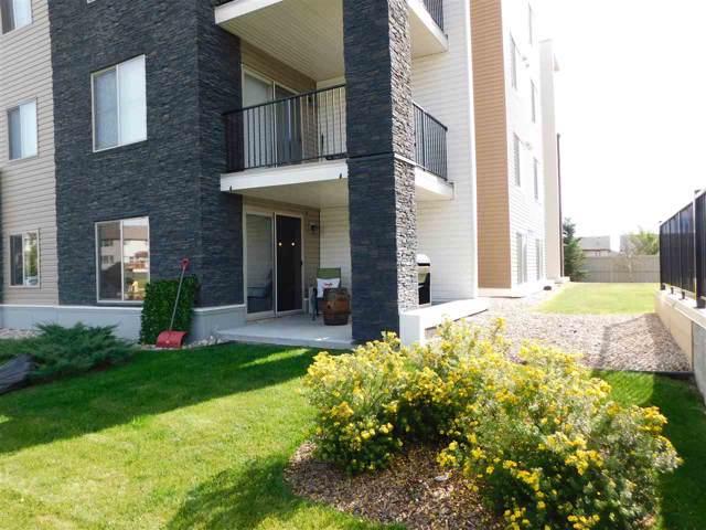 119 11808 22 Avenue, Edmonton, AB T6W 2A2 (#E4174009) :: The Foundry Real Estate Company